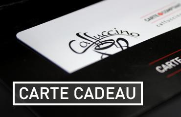 Carte cadeau La boutique Caffuccino