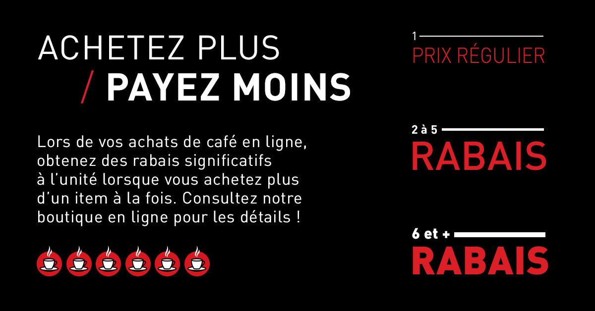 Rabais - Café